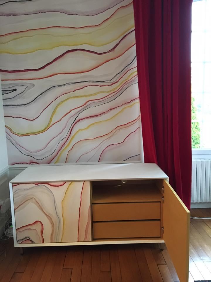 interieur meuble sur mesure salon